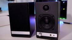 Best Hifi Desk Speakers? AudioEngine HD3 w/ Bluetooth - YouTube