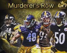 Scariest linebackers in the game! @jhharrison92 @bud_dupree @kissmyconverse82 @shazier