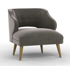 20% Off today only!  Ends 6/13/13 at midnight EST.  MALLORY CHAIR - NEVADA PEWTER