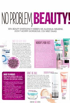 Cosmo Girl talks about our Hydraterende Crème