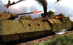 Dark Roasted Blend: Awesome Armoured Trains and Rail Cruisers