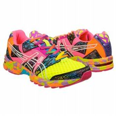 Asics Women's Gel Noosa Tri 8 - I can't help it. Workout clothes must be NEON! Cute Nurse, Nursing Shoes, Cute Sneakers, Running Fashion, Asics Women, Living Strong, Road Running, Footwear Shoes, Live Long