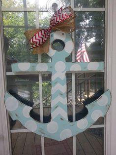 Anchor door hanger minus the bow