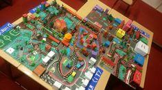 Maquette 'Wij bouwen een stad' groep 6