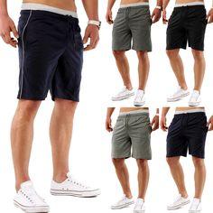 4cb531b6980ba Pantalones cortos deportivos para hombres Pantalones cortos deportivos para  jogging Aptitud Ocio Running Training Summer Pantalones
