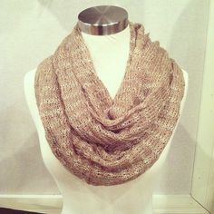 Sparkle infinity scarves - $ 38. #stockingstuffers | @isabelleandco Instagram