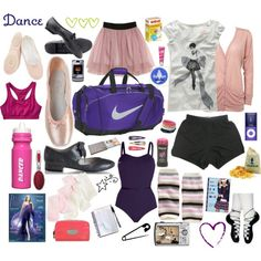 What's in YOUR dance bag? Dress code comes out next week! Stay tuned! Till then... tell us what's in YOURS?