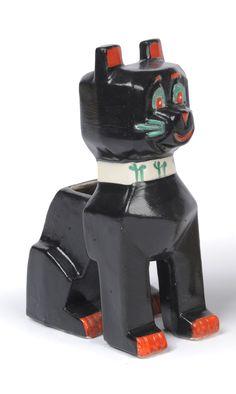 "qwp: """" Various Futuristic Cat Ceramics Geometric Sculpture, Sculpture Art, Ceramic Animals, Ceramic Art, Crazy Cat Lady, Crazy Cats, Louis Wain Cats, Egyptian Cats, Silly Cats"