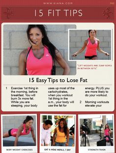 15 Easy Tips to Lose Fat
