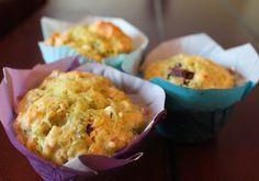 Muffins aux courgettes zucchinis santé