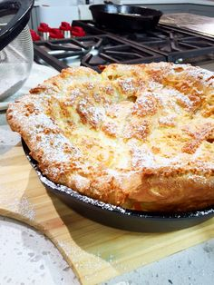 Dutch Baby      Dutch Baby Recipe Courtesy Chef Bryan Woolley Ingredients:  4 tbsp butter 1 cup m