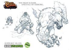 KickStarter - Battle Chasers: Nightwar - JRPG-inspired RPG based on the comic book by Joe Madureira Comic Book Artists, Comic Artist, Comic Books Art, Joe Madureira, Creature Feature, Creature Design, Battle Chasers, Character Art, Character Design