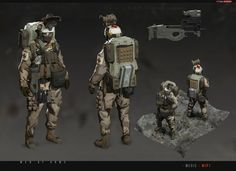 Various soldier concepts for yet another canceled project that we have worked on here at redsteam. (c) 2013 Redsteam - Gameloft [MENatARMS] redsteam CA Assault Armor Concept, Concept Art, Character Art, Character Design, Combat Armor, Future Soldier, Sci Fi Weapons, Fiction, Space Marine