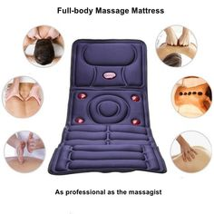 Collapsible Full-body Massage Mattress Multifunction Massager Cushion#Full-body Massage Mattress#Multifunction Massager Cushion Massage, Family Emergency, Body Electric, Body Art Tattoos, Full Body, Health And Beauty, Mattress, Health Care, Cushions