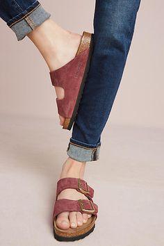 Birkenstock Bordeaux Arizona Sandals