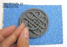 DIY Celtic Necklace Of Polymer Clay   Shelterness