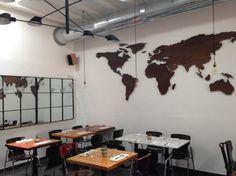 world map Ibiza, Track Lighting, Trip Advisor, Restaurant, Ceiling Lights, Map, Gallery, Home Decor, Decoration Home