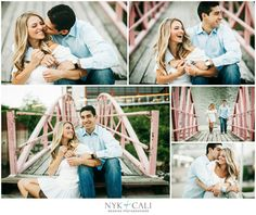 Nyk + Cali, Wedding Photographers | Nashville, TN | Engagement Session | Downtown | Southern