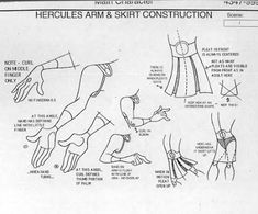 Living Lines Library: Hercules (1997) - Model Sheets & Production Drawings Disney Concept Art, Game Concept Art, Disney Sketches, Walt Disney Studios, Character Design Animation, Character Sheet, Cool Animations, Anatomy Reference, Disney Movies