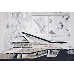 #40 Final Review Section Model by @jusdeliciouss from @uscarchitecture via @synthesisdna
