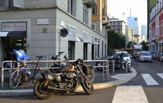 Dario Mastroianni of Moto-Quartiere - The epicenter of all things motorcycle in the heart of Milan