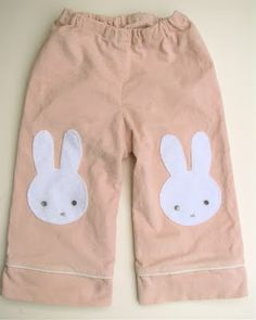 Bunny Pants! So cute for easter!
