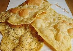 Here you can find a collection of Italian food to date to eat Beef Pies, Cooking Bread, Flatbread Recipes, Snack Recipes, Snacks, Antipasto, Special Recipes, Sweet And Salty, Crepes