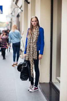 Street style - easy yet statement fashion - monstylepin  #fashion #streetstyle #trend #sporty