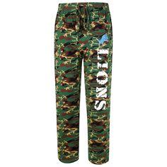 Detroit Lions Concepts Sport Knit Pants - Camo - $23.99
