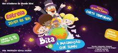 MAPA DA CULTURA: RJ: Sucesso no YouTube, personagem 'Bitta' ganha adaptação teatral inédita - 'Bitta e a imaginação que sumiu'
