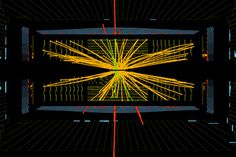 proton-proton collisions showing what may be the Higgs boson particle. Confirmed! Newfound Particle Is a Higgs Boson