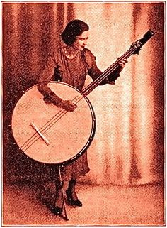 Music for Maniacs: It's Not Just A Banjo - It's A Really BIG Banjo