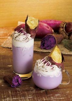 セガフレード女性に人気の紫いもを使用したプレミアムラテを期間限定で発売