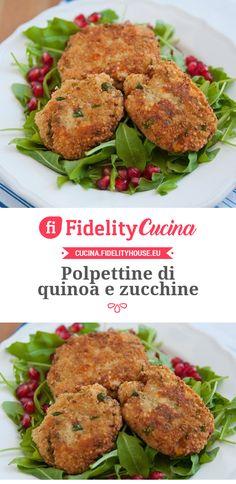 Polpettine di quinoa e zucchine
