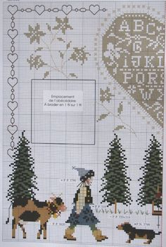 Gallery.ru / Фото #13 - DFEA HS 16 special ABC. - fialka53 Cross Stitch Samplers, Cross Stitching, Cross Stitch Embroidery, Hand Embroidery, Cross Stitch For Kids, Just Cross Stitch, Cross Stitch Designs, Cross Stitch Patterns, Christmas Embroidery