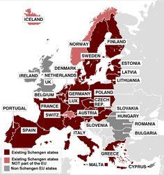 Datos y consejos para viajar por Europa
