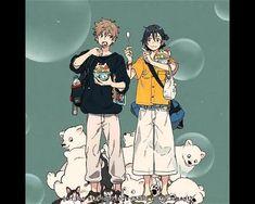 anime: umibe no étranger #mio #shun #thestrangerbythebeach Anime Songs, Happy Pills, Doujinshi, Anime Love, Manga Art, Kitty, Stupid Things, Artwork, Wallpapers