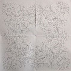 Cutwork Embroidery, Hungarian Embroidery, Cross Stitch Embroidery, Embroidery Patterns, Quilt Patterns, Motif Design, Bird Design, Whole Cloth Quilts, Applique Quilts