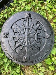Stepping Stone Molds, Concrete Molds, Plastic Molds, Compass, Outdoor Decor