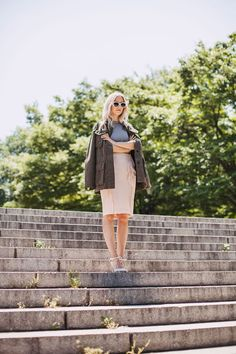How To Start Mixing Your Summer & Fall Pieces Now #refinery29  http://www.refinery29.com/how-to-start-mixing-your-summer-and-fall-pieces#slide-3