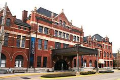 Restored Union Station & visitor center in Montgomery.