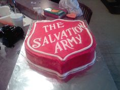 The Salvation Army Cake