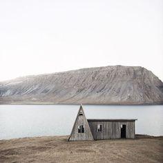 A classic Icelandic cabin, photo by Tom Kondrat #takemethere  #cabin #escape #slowliving