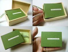 Book with little box