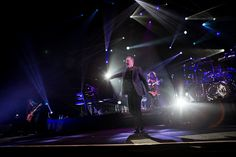 Jim Kerr of the Scottish rock band Simple Minds performs live at Mediolanum Forum in Assago