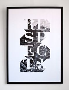 Respect — Mish Stark by IncStamp , via Behance