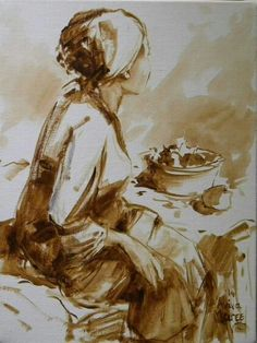 Vrugtesmous   Aviva Maree Art South African Artists, Sculpture, Drawings, Faces, Portraits, Paintings, Oil, People, Women