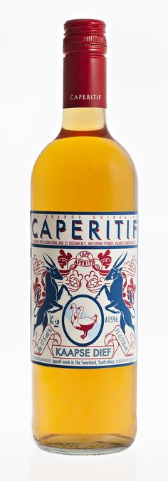 Capertif Vermouth #spirits #packaging