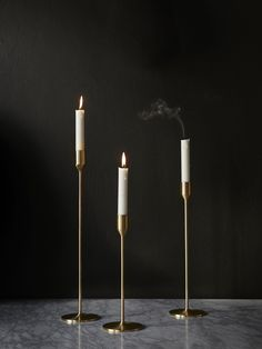Artilleriet Edition: R. Hutton Candle Stick Brass