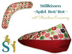 Stillkissen ~Äpfel Rot/Rot ~ Theraline Economy